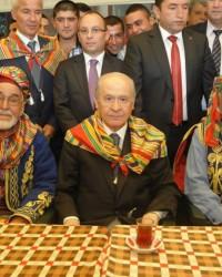 MHP Genel Başkanı Devlet Bahçeli Söğüt, Küre ziyar