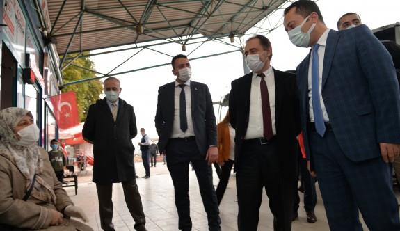 COVİD TESTLERİ BİLECİK'TE YAPILMAYA BAŞLANDI