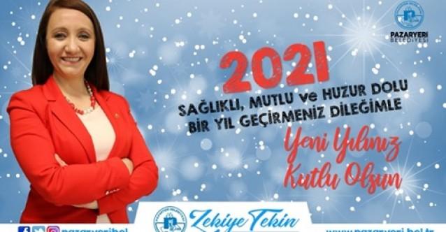 Başkan Zekiye Tekin'in Yeni Yıl Mesajı