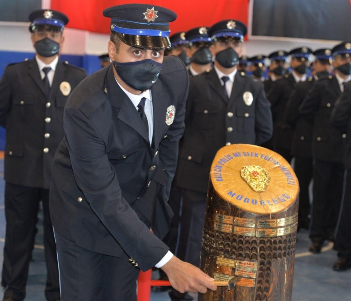 POMEM'de 257 polis adayı yemin etti