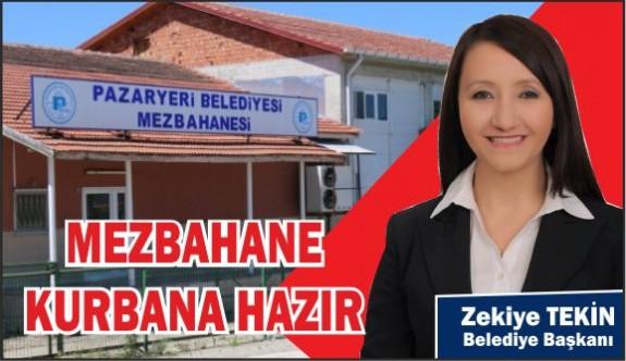 MEZBAHANE KURBANA HAZIR