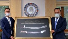 Mihalgazi'nin kılıcı, Askeri Müzesi''nde sergileniyor