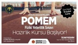 POLİS ADAYLARINA ÜCRETSİZ HAZIRLIK KURSU