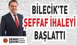 BAŞKAN ŞAHİN, ŞEFFAF BELEDİYECİLİK,...