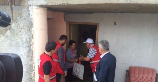 Türk Kızılay'ı Kurban Vekaletlerini Karadağ'da Kesti