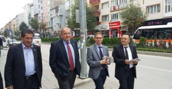 LDP GENEL BAŞKANI BOZÜYÜK'TE