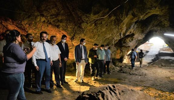 ''Gedikkaya mağarası''nda kazı çalışmaları