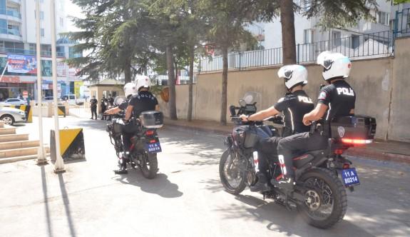 MOTORLU POLİS EKİPLERİ GÖREVE BAŞLADI
