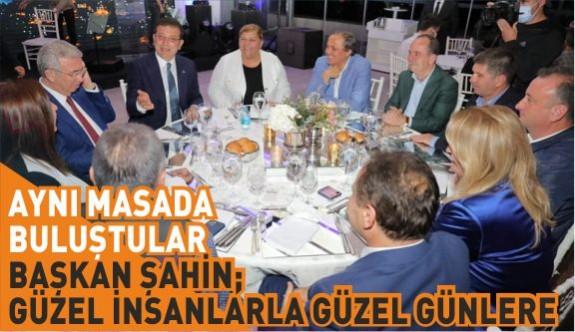 BAŞKAN ŞAHİN'E BÜYÜK DESTEK GELİYOR