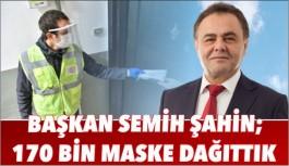 BİLECİK'TE, 170 BİN MASKE DAĞITILDI