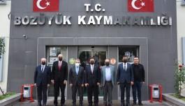 KAYMAKAM ÖZTÜRK'E ZİYARET