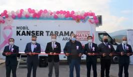 ''Mobil kanser tarama'' aracı hizmete girdi