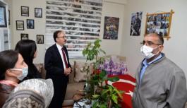 Vali Kızılkaya'dan, şehit ailesine ziyaret