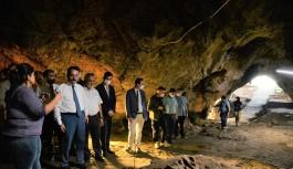 ''Gedikkaya mağarası''nda...
