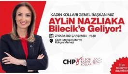 AYLİN NAZLIAKA, BİLECİK'E GELİYOR