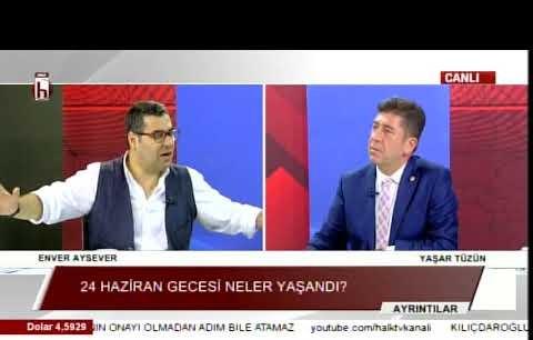 CHP Bilecik Milletvekili Yaşar Tüzün'den Halk TV'de önemli açıklamalar